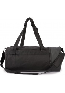 Tubular sports bag with separate shoe compartment