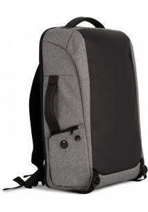 Anti-theft polyester backpack.