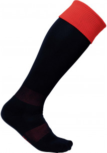 Two-tone sports socks