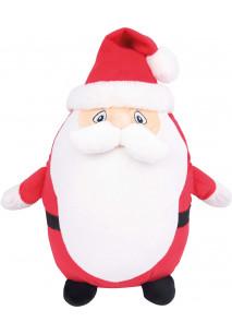 Zipped Santa cuddly toy