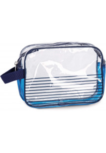 Waterproof vanity case - Nautical style.