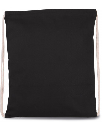 DRAWSTRING BAG WITH THICK STRAPS