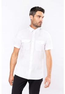 Men's short-sleeved pilot shirt