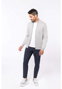 Premium full zip cardigan