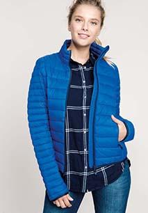 Ladies' lightweight padded jacket