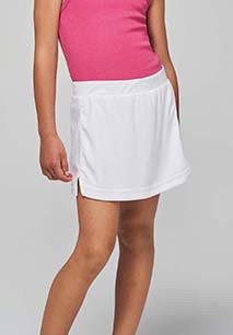 Kids' tennis skirt