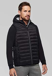 Adult hooded bodywarmer