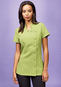 Orchid Buttoned Tunic