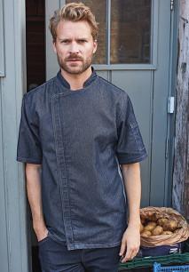 'Zip close' chef's jacket