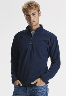 Zip Neck Microfleece Jacket