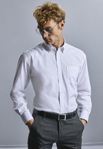 Men's Long-Sleeved Non-Iron Shirt - Classic Fit