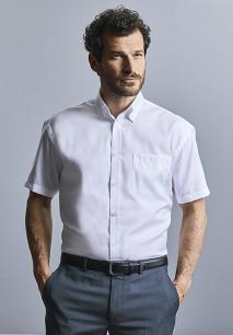 Men's Short-Sleeved Non-Iron Shirt - Classic Fit