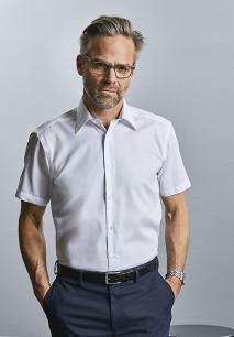 Men's Short-Sleeved Non-Iron Shirt - Modern Fit