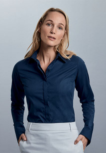 Ladies' Long-Sleeved Ultimate Stretch Shirt
