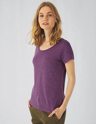 Ladies' TriBlend crew neck T-shirt