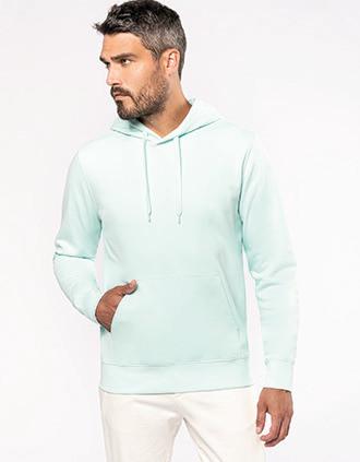 Men's eco-friendly hooded sweatshirt