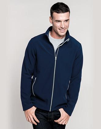 Men's 2-layer softshell jacket
