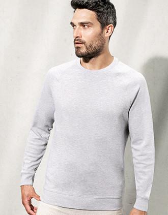 Organic piqué sweatshirt