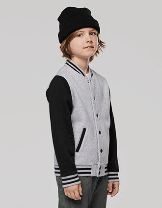 Kids teddy fleece jacket