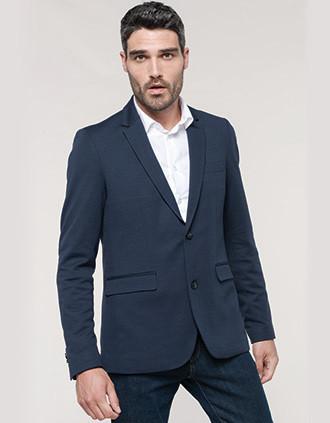Men's knit jacket