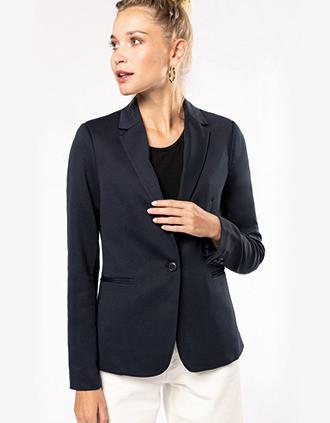 Ladies' knit jacket