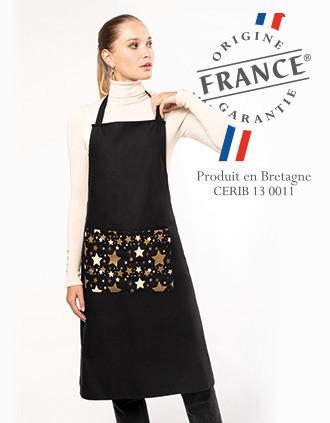 "Adults' Christmas apron ""Origine France Garantie'"