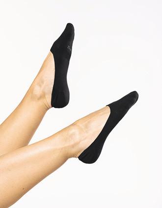 Invisible sneaker socks