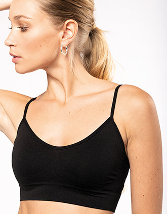Ladies' seamless bra