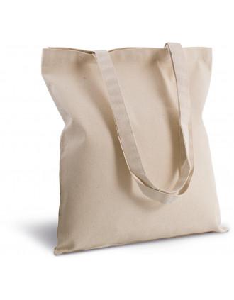 Cotton canvas shopper bag
