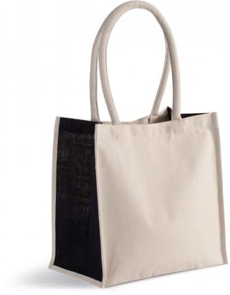 Cotton/jute tote bag - 17L