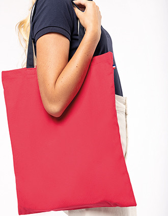 Three-tone shopping bag
