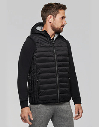 Adult hooded bodywarmer