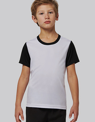 Children's Bicolour short-sleeved t-shirt