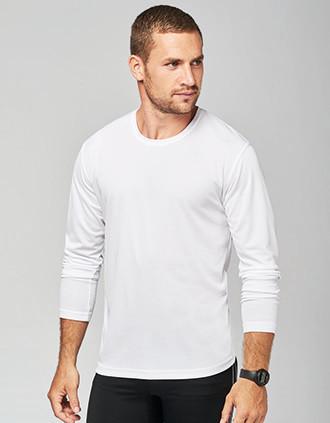 Men's long-sleeved sports T-shirt