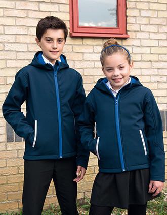 Kids' TX Performance Hooded Soft Shell Jacket