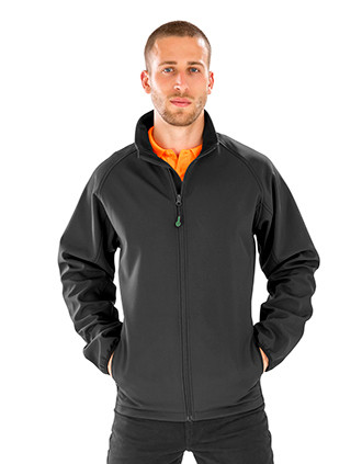 Men's recycled softshell jacket