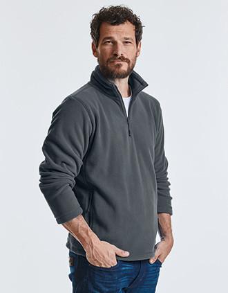 Zip Neck Fleece Jacket