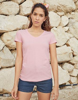Ladies' Valueweight V-neck T-shirt (61-398-0)
