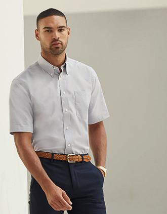 Men's Short-Sleeved Oxford Shirt (65-112-0)