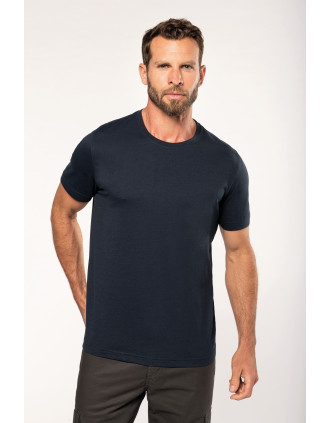 Men's eco-friendly crew neck T-shirt