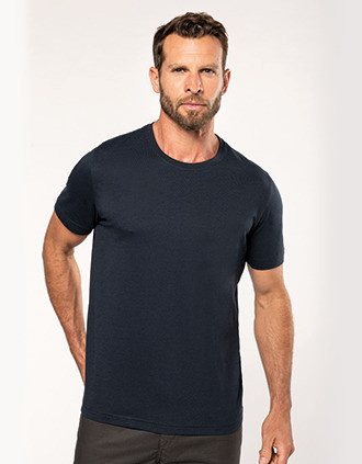 Men's eco-friendly crew neck T-shirt