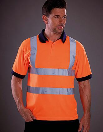 High Visibility Short Sleeve Polo Shirt